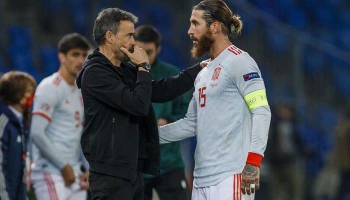 EURO 2020 – Luis Henrique zappe Ramos et les joueurs du Real Madrid