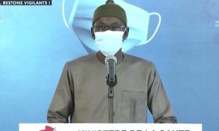 CORONAVIRUS AU SÉNÉGAL – 22 nouveaux cas, 2 décès et 145 malades