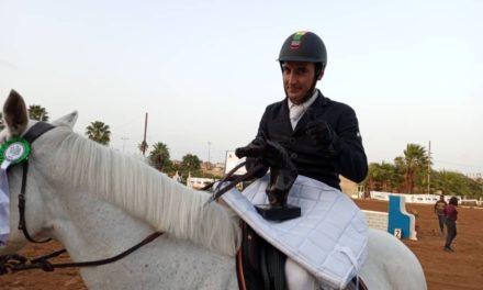 5E JOURNÉE ÉQUITATION – Hamoudy Kazoun intenable, Aziz Paye coriace
