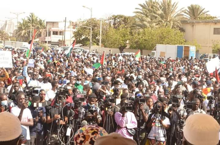 MASSACRES DE GAZA – Le peuple sénégalais se mobilise pour la Palestine