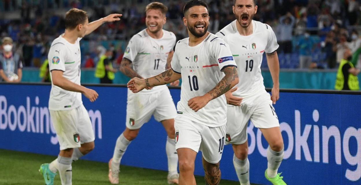 EURO – L'Italie frappe fort d'entrée (3-0)
