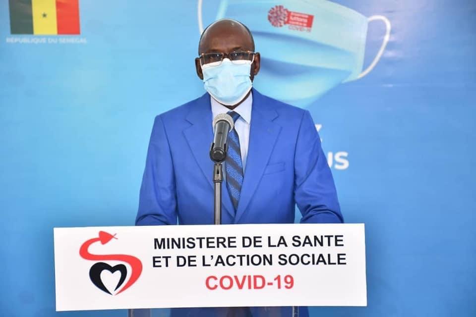 CORONAVIRUS AU SÉNÉGAL – 42 nouveaux cas, zéro décès et 235 malades