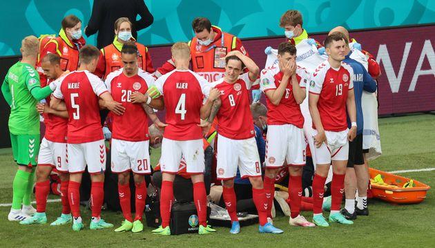 EURO 2021 – Le Danois Eriksen victime d'un malaise cardiaque en plein match