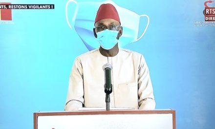 CORONAVIRUS AU SENEGAL – 45 nouveaux cas, 2 décès et 229 malades