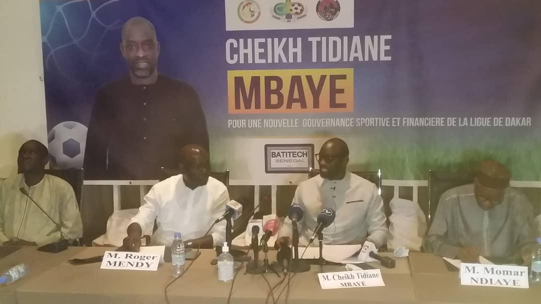 """CHEIKH TIDIANE MBAYE – """" Je suis candidat pour apporter du sang neuf à la Ligue de Dakar"""""""