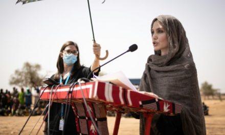 MALI – L'actrice américaine Angelina Jolie au secours des réfugiés
