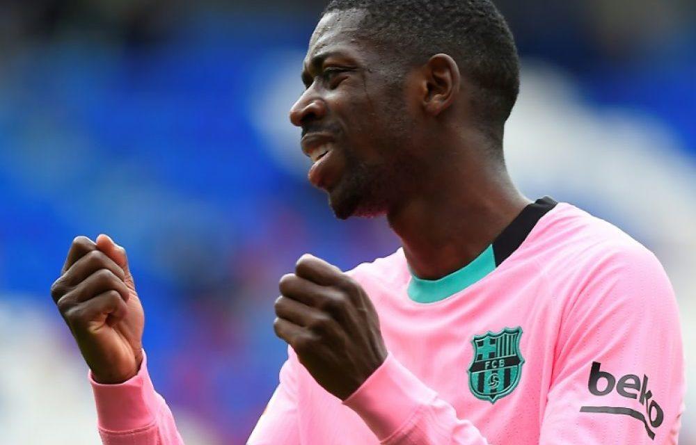 FC BARCELONE – Dembélé, opéré avec succès, sera absent quatre mois