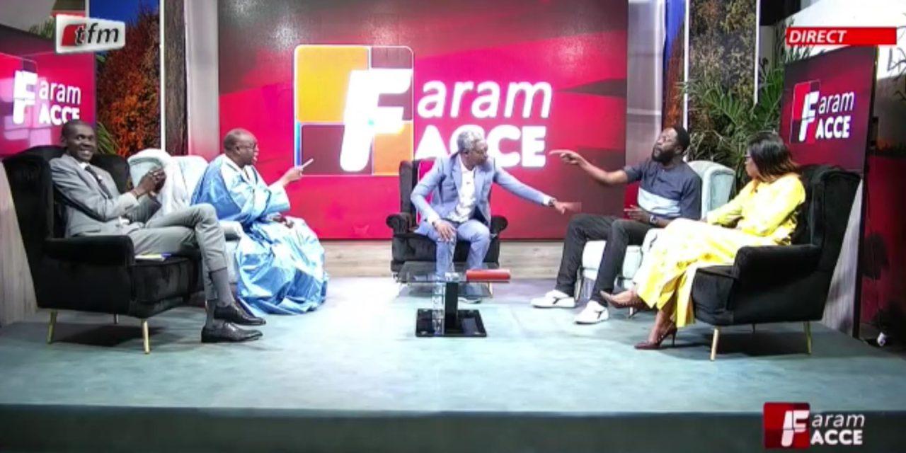 (VIDEO) – FARAM FACCE  – Me El hadji Diouf et Kilifeu s'insultent sur le plateau de la Tfm