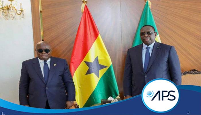 NANA AKUFO-ADDO À DAKAR – La CEDEAO et les relations bilatérales au menu des échanges