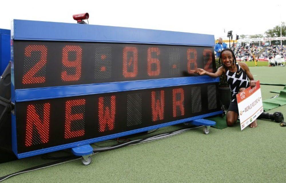 ATHLETISME – La Néerlandaise Hassan pulvérise le record du monde du 10.000 m