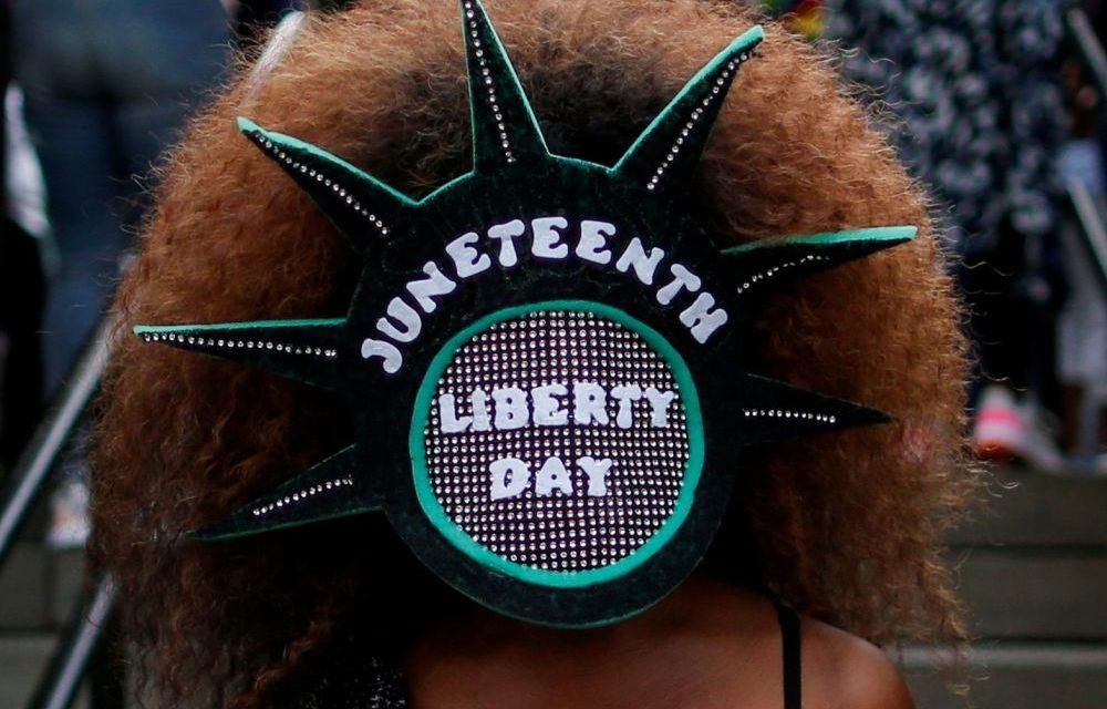 """Les Etats-Unis célèbrent """"Juneteenth"""", commémoration de l'abolition de l'esclavage"""