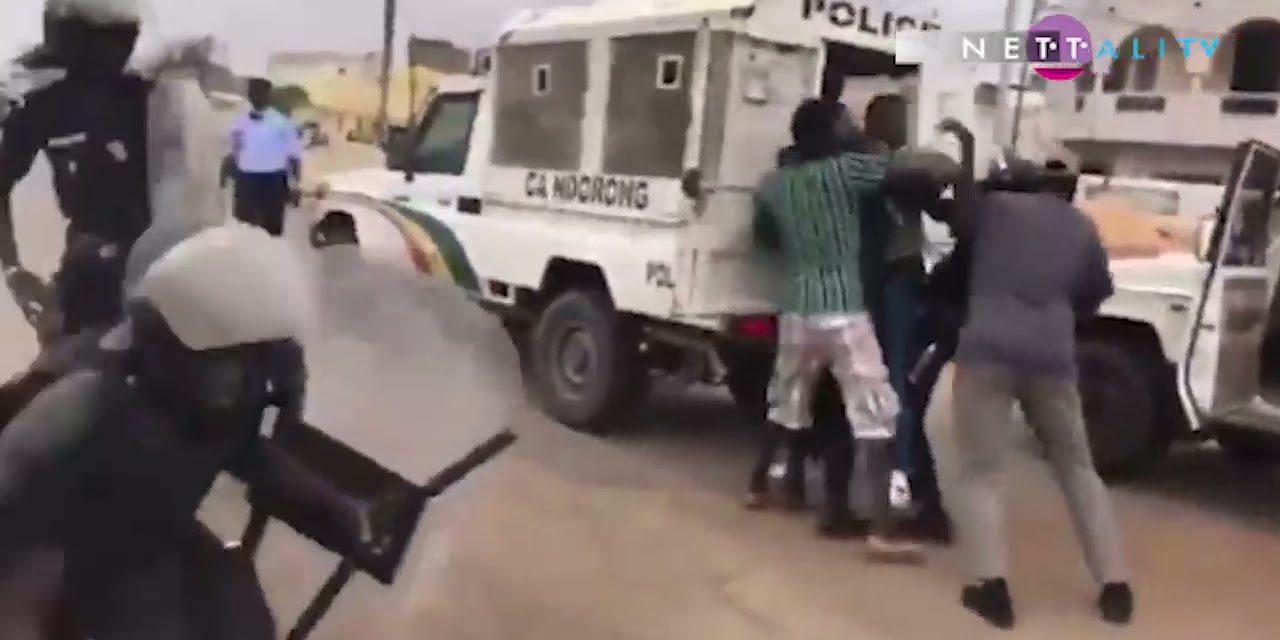 VIDEO – KAOLACK  – Arrestation musclée de Kilifeu de Y'en a marre