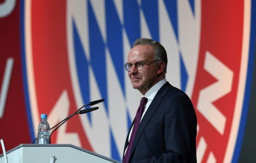 FOOT – Karl-Heinz Rummenigge quitte la direction du Bayern Munich