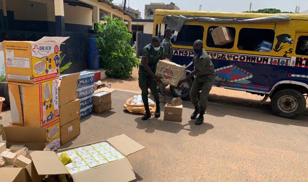 ZAC MBAO – De faux médicaments d'une valeur de plus 46 millions saisis par la gendarmerie