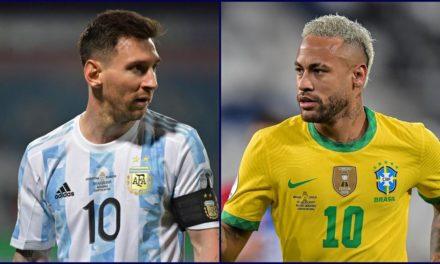 COPA AMERICA – Argentine-Brésil, une finale de rêve, Messi-Neymar à qui la legende?