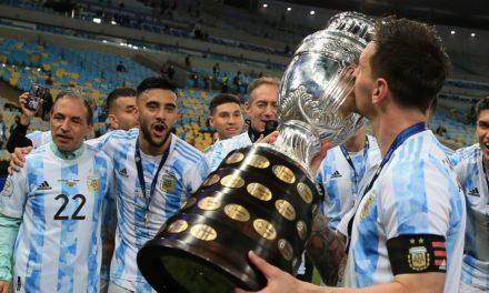 VAINQUEUR DE  LA COPA AMERICA – Messi remporte son premier trophée avec l'Argentine