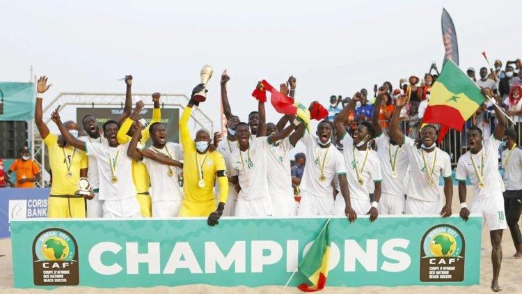 MONDIAL BEACH SOCCER – Le Sénégal dans la poule D avec le champion du monde