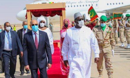 VISITE D'ETAT – Macky Sall à Nouakchott, à bord du nouvel avion présidentiel