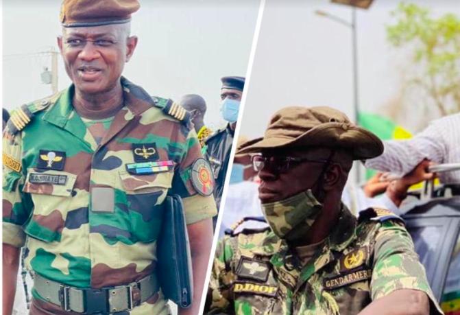 NOMINATION  – Macky Sall distribue des galons dans l'armée et la gendarmerie