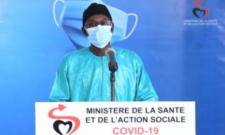 CORONAVIRUS AU SÉNÉGAL – 334 nouveaux cas, 2 décès et 2.876 malades