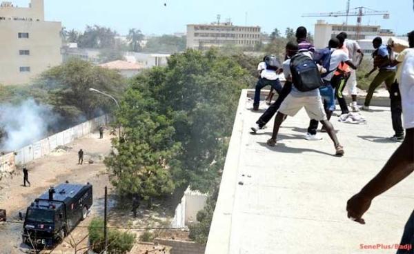 VIOLENCES A L'UCAD – Le Conseil de discipline prend des sanctions contre 88 étudiants