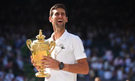 FINALE WIMBLEDON – Djokovic domine Berrettini et s'offre son 20ème Grand Chelem
