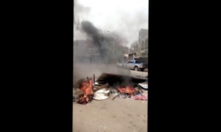 VIDEO – KEUR MASSAR  – Les jeunes chauffent la rue