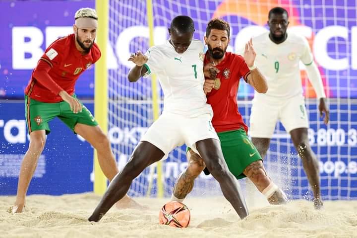 MONDIAL BEACH SOCCER – Le Sénégal dompte le champion du monde et file en quart (5-3)