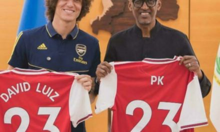 """PARTENAIRE TOURISTIQUE DU CLUB LONDONIEN – Paul Kagame n'accepte pas """"la médiocrité"""" d'Arsenal"""