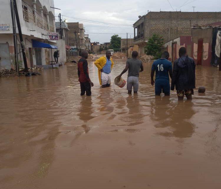 VIDEO – IMAGES – KEUR MASSAR – Les inondations en images