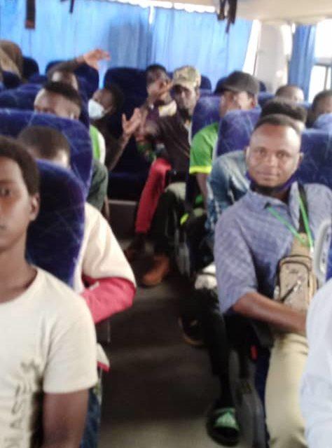 RAPATRIEMENT  – 29 migrants embarqués d'Agadez à destination du Sénégal via Niamey