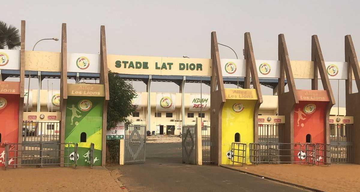 ÉLIMINATOIRES MONDIAL 2022 – Le stade Lat Dior homologué ?