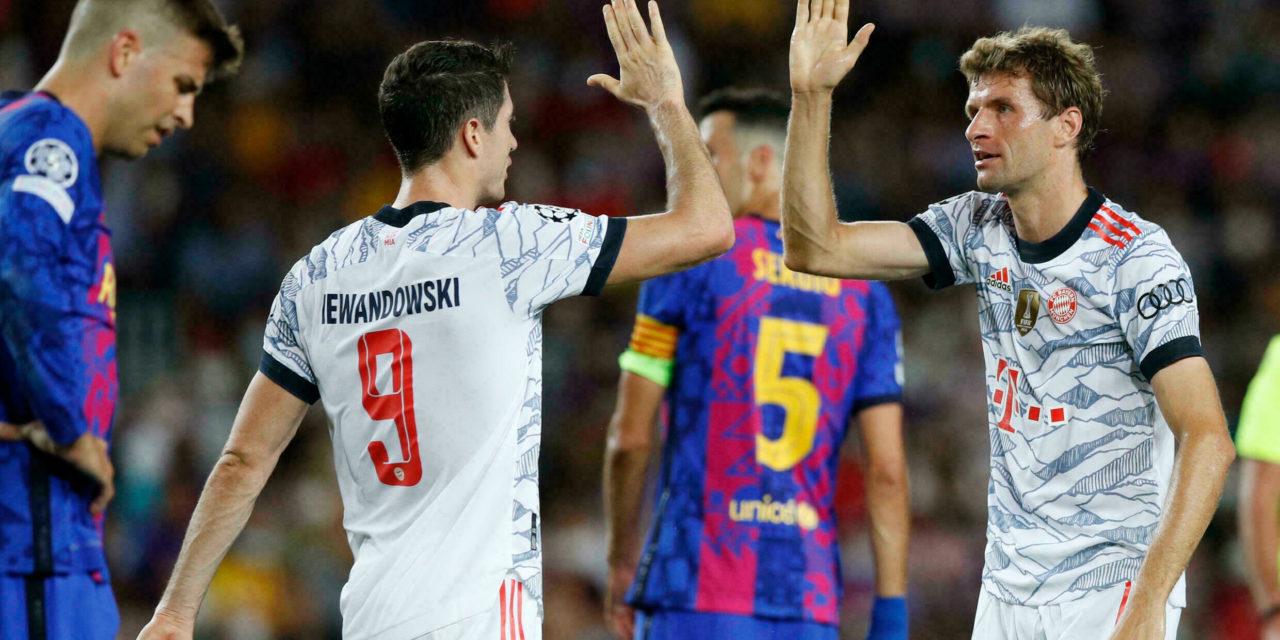 C1 – Le Bayern humilie encore le Barça, Chelsea démarre doucement