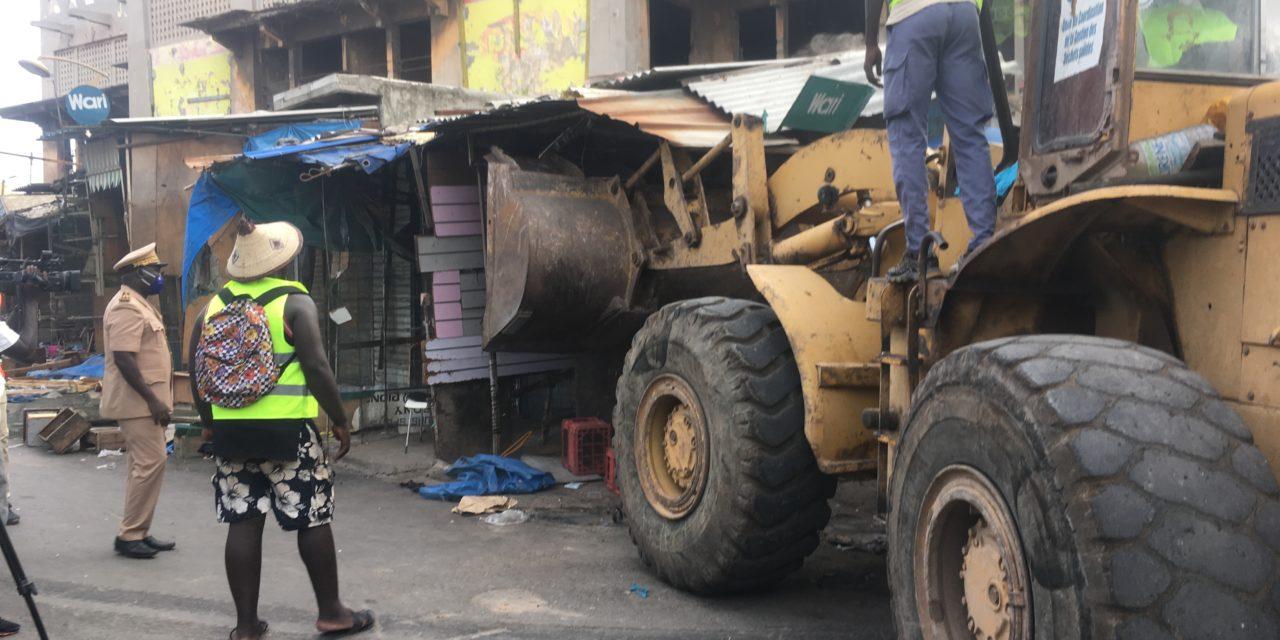 RECONSTRUCTION DU MARCHÉ SANDAGA – Des commerçants demandent l'arbitrage de Macky Sall