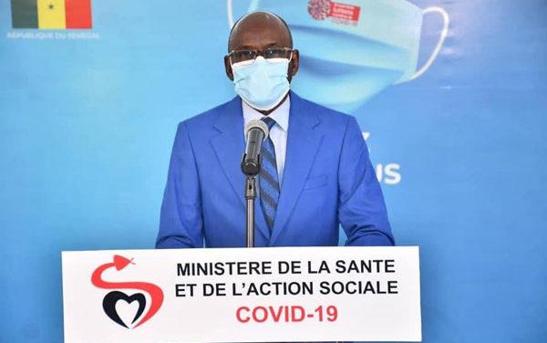 COVID-19 AU SÉNÉGAL- 26 nouveaux cas positifs, 1 décès