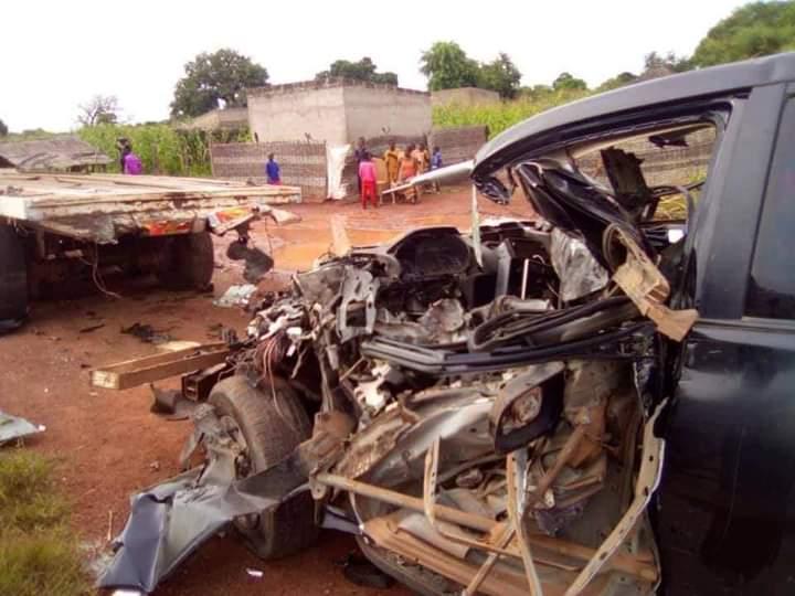 ACCIDENT DE LA ROUTE  – Le chauffeur de Guirassy finalement décédé