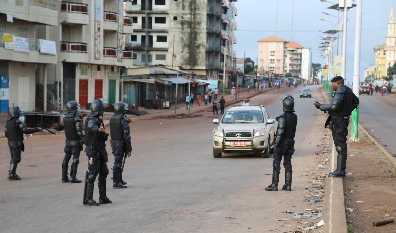 GUINEE – Des tirs à l'arme automatique à Conakry