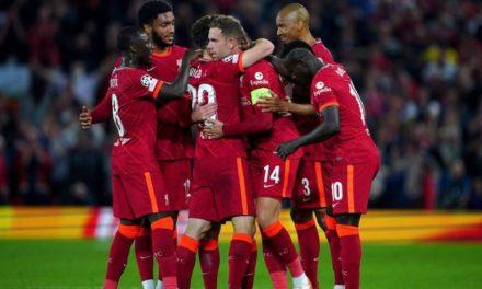 C1 – Liverpool renverse le Milan, le Psg cale à Bruges
