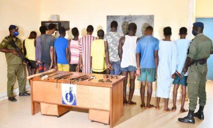 Braquage mortel à Darou Ndoye : la gendarmerie arrête 11 membres d'un gang !