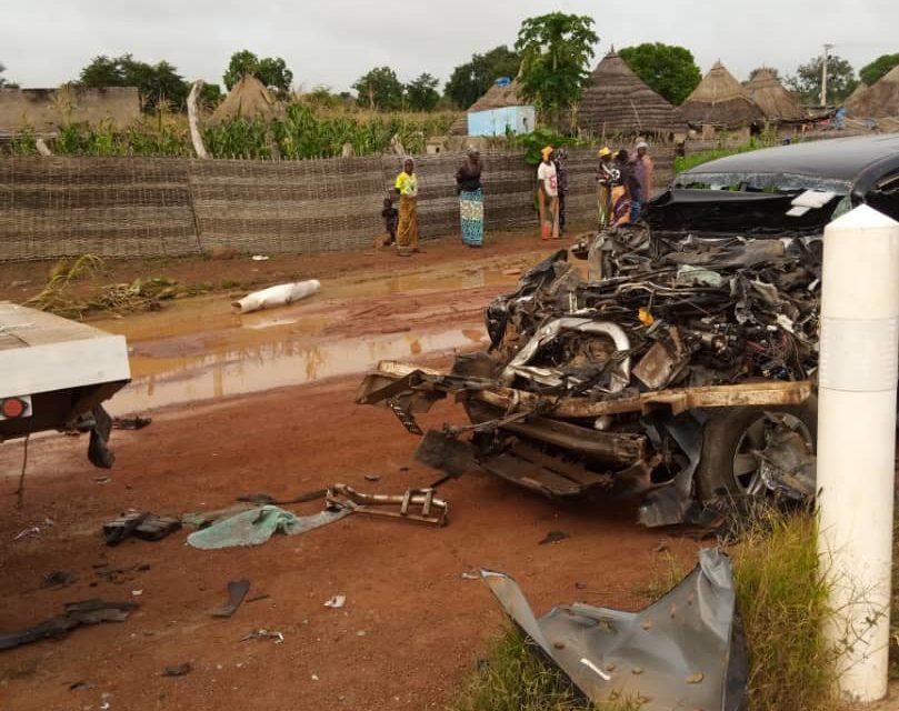 TAMBA – Moustapha Guirassy victime d'un accident de la circulation