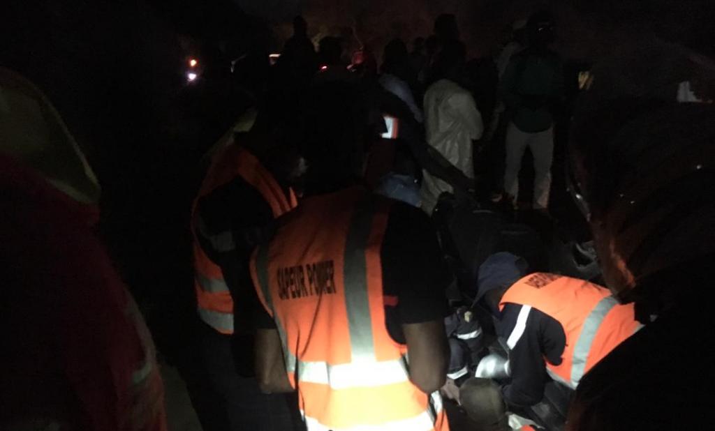 5 morts et des blessés graves dans un violent accident à Lam lam (Thiès)