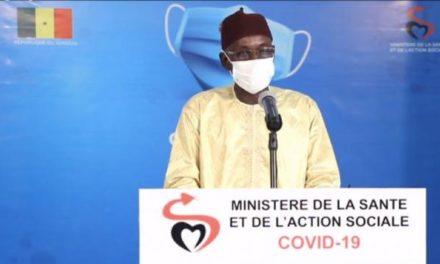 CORONAVIRUS AU SENEGAL – 2 nouveaux cas et 3 décès