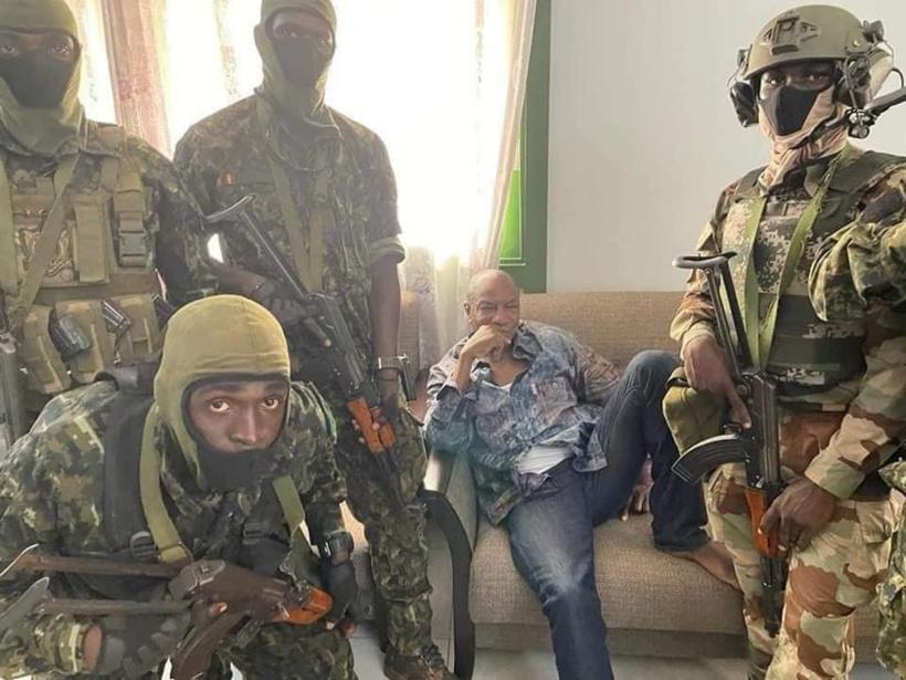GUINEE – Alpha Condé arrêté par des forces spéciales