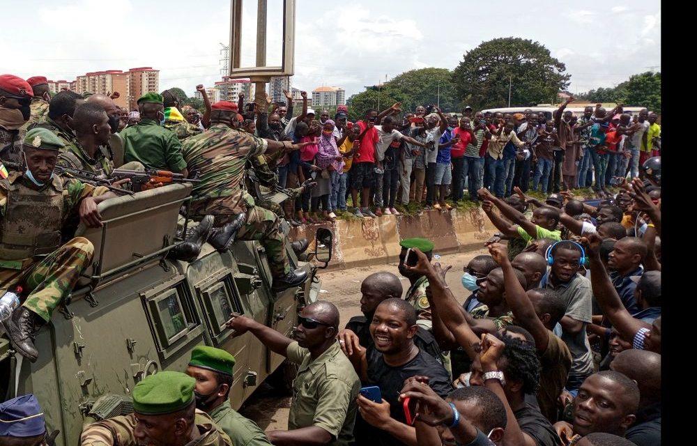 PUTSCH EN GUINEE CONAKRY – La Raddho et Amnesty condamnent