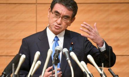 JAPON – Le très populaire Taro Kono entre dans la course pour diriger le parti au pouvoir