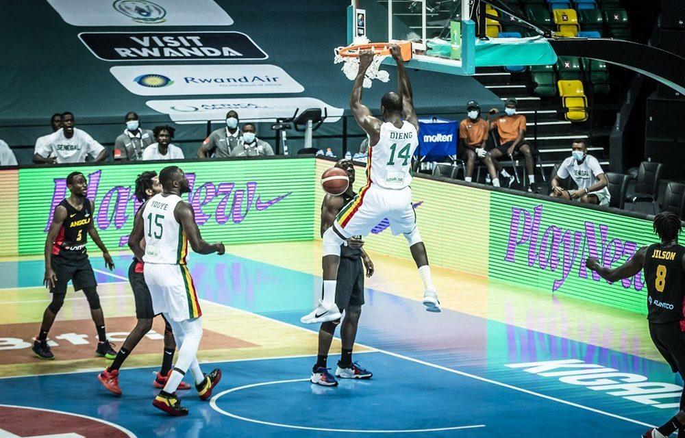 AFROBASKET 2021 – Le Sénégal écarte l'Angola et rejoint le dernier carré (79-74)