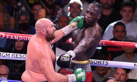 """BOXE – La """"Fury"""" de Tyson s'abat encore sur Deontay Wilder"""