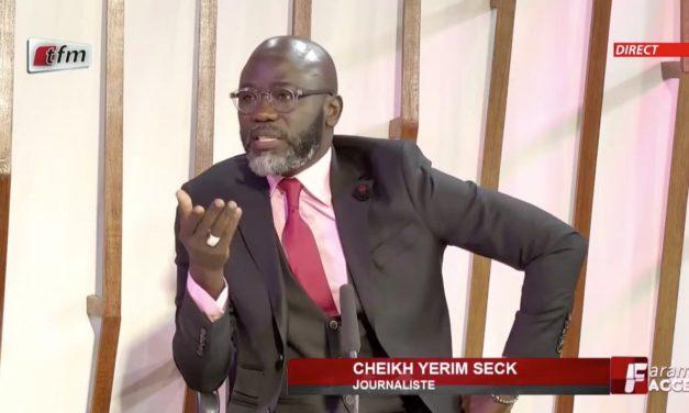 """VIDEO – Cheikh Yérim Seck : """"Ce n'est facile pour personne…"""""""