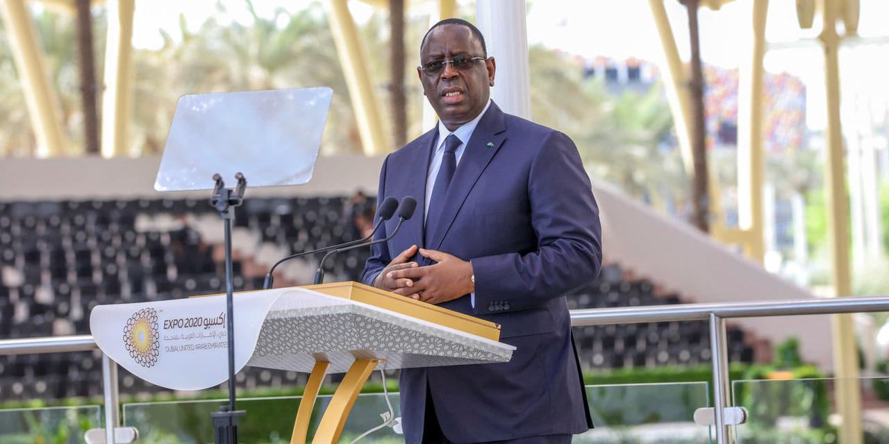 """MACKY SALL A L'EXPO DE DUBAI – """"Le Sénégal est sur la bonne voie…"""""""