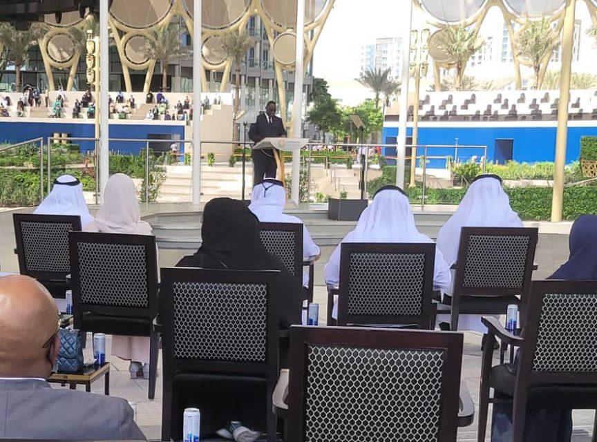 DUBAI – Le discours de Macky Sall à l'expo universelle